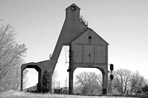 Railroad Coal/Water Tower - DeKalb, Illinois - Photo by William 74