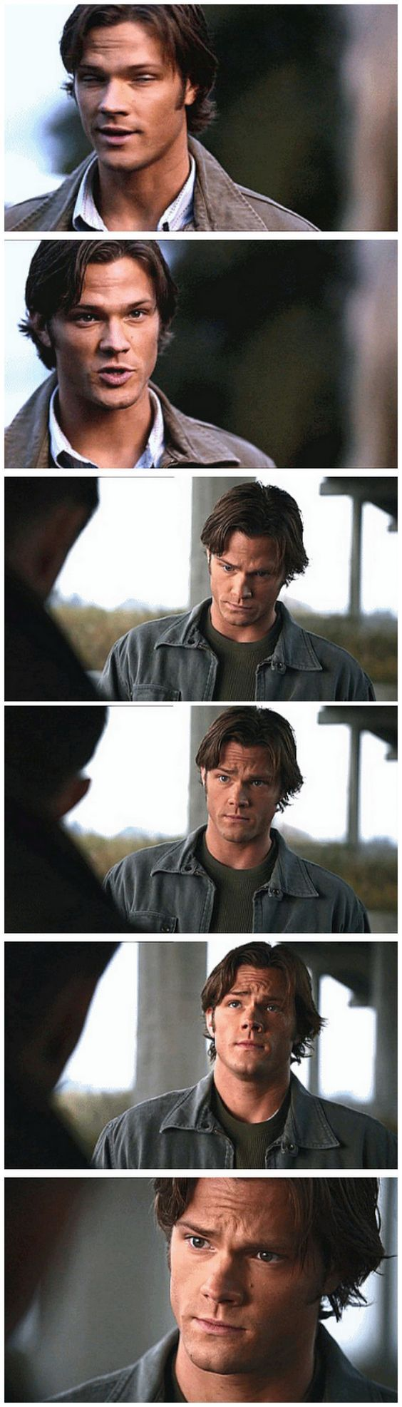 Jared Padalecki as Sam Winchester 4x11