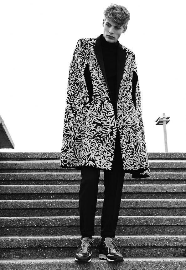 picnicwithsatan:  Baptiste Radufe|Numéro Homme China #10 Winter 2013 |Ph: Carlotta Manaigo