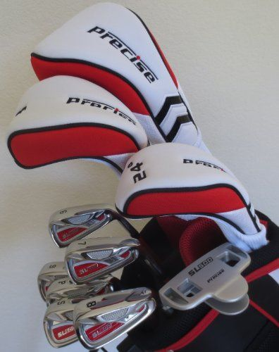 """Ladies Petite Complete Golf Set Clubs Custom Made for Women 5'0""""-5'5"""" Tall Taylor Fit Driver, Wood, Hybrid, Irons, Putter, Sand Wedge, Bag All Graphite Shafts"""