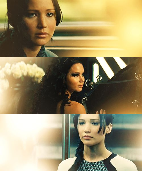 "Katniss Everdeen: Of course who doesn't' admire this character... but what I most admire her for, is her strength to stand up for what she believes in, and endure no matter the odds. Quote from Katniss ""I want to do something, right here, right now, to shame them, to make them accountable, to show the Capitol that Rue was more than a piece in their Games. And so am I."""