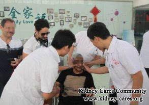 treatment for high BUN and creatinine without dialysis
