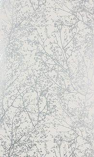 Papier peint Forest argenté