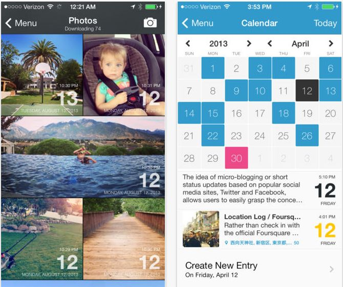 Best journaling app for new parents: DayOne. We LOVE it. | coolmomtech.com