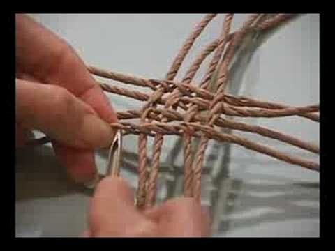 Ply-Split Braiding Basket with Linda Hendrickson