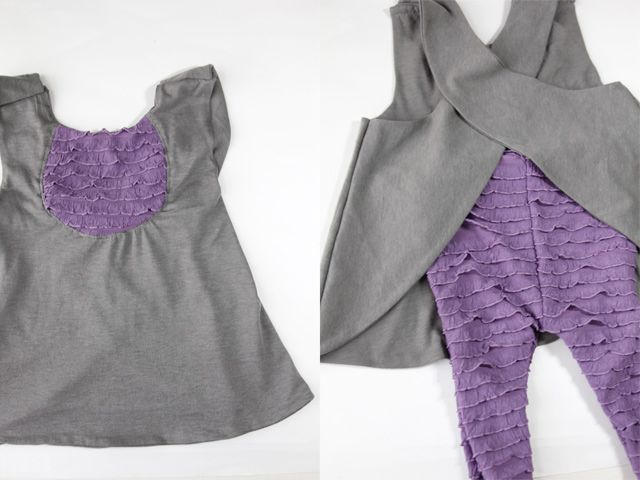 see kate sew: FREE PATTERN: ruffle fabric pinafore
