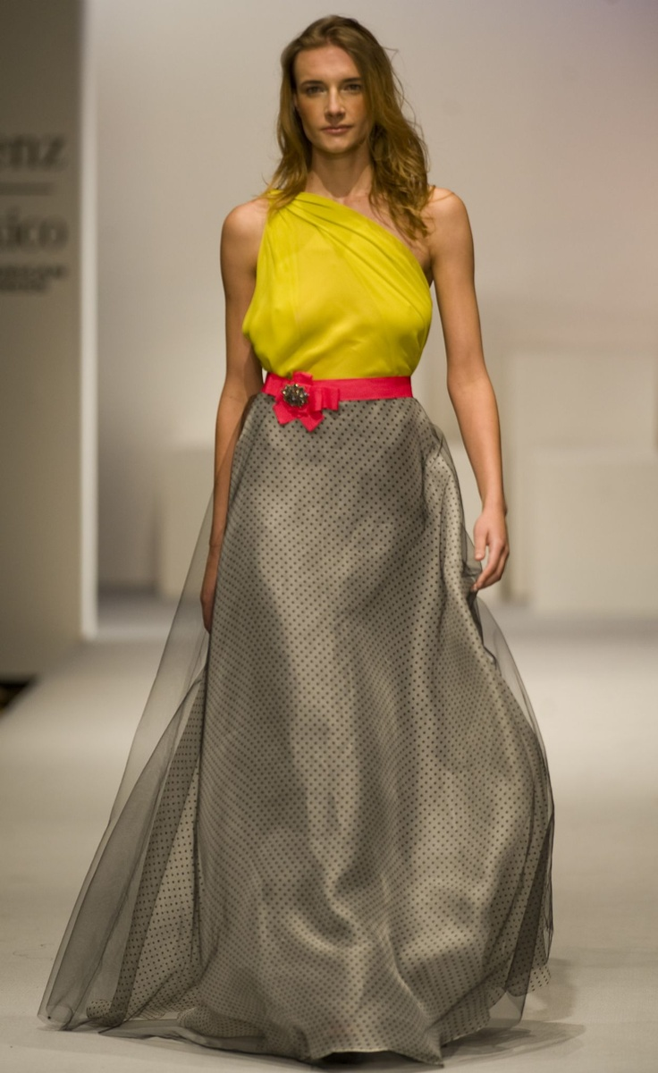 Creation by Mexican designer Carla Fernandez* What a great combination!!!!