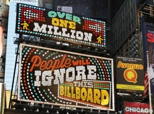 New Tic Tac Billboard in Times Square, NY