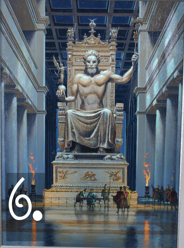 Le altre città greche si lanciarono nella moda del criselefantino monumentale con entusiasmo. Queste statue sono oggi perdute, ma alcune, come lo Zeus di Olimpia (un'altra opera di Fidia) sono rimaste nella storia per il loro stile raffinato e l'incredibile impatto visivo. Ricorda, infatti, che per i Greci la statua di un dio era una doppia epifania divina - sia perché il dio 'era' la statua, sia perché aveva ispirato direttamente l'artista.