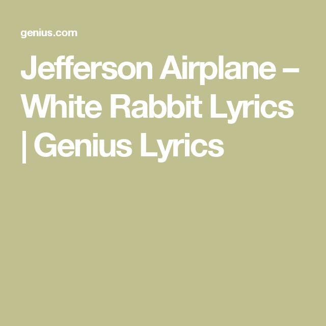 JeffersonAirplane – White Rabbit Lyrics   Genius Lyrics