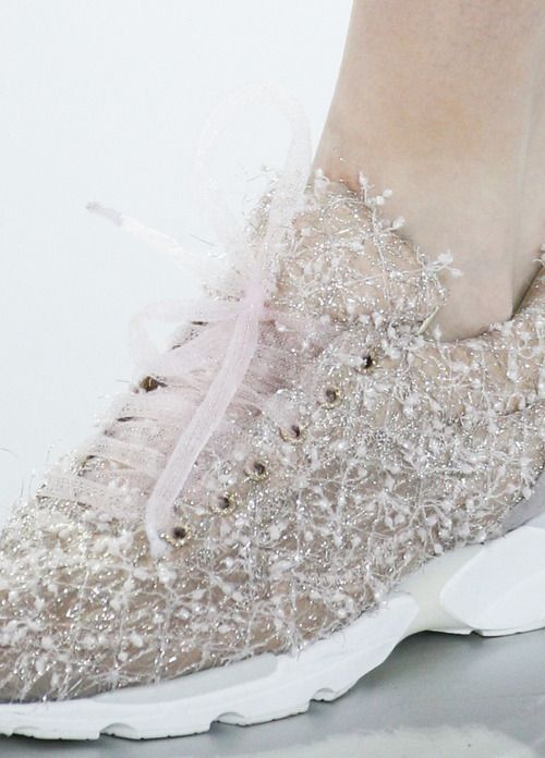 A detail of Chanel Haute Couture Spring/Summer 2014