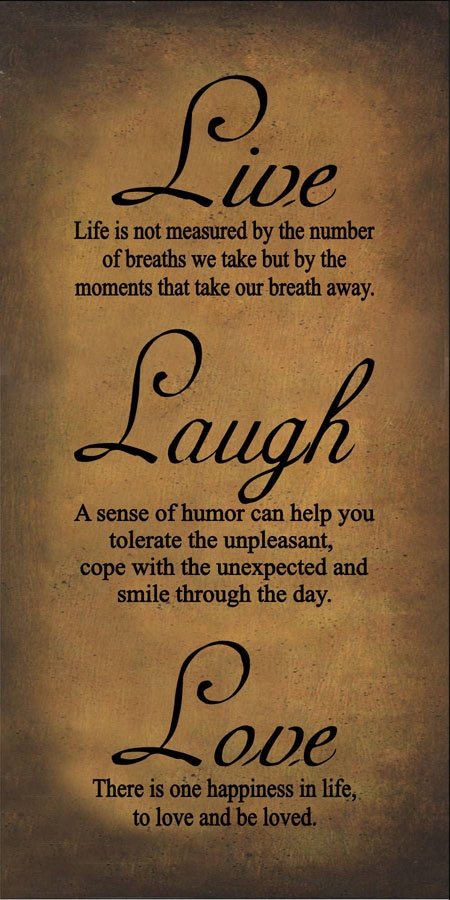 Live Love Laugh Quotes 102 Best Live Love Laugh Images On Pinterest  Decorated Bottles