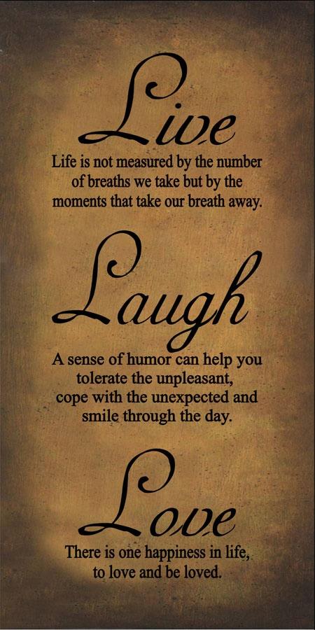 Live Laugh Love Dance Quotes Quotesgram