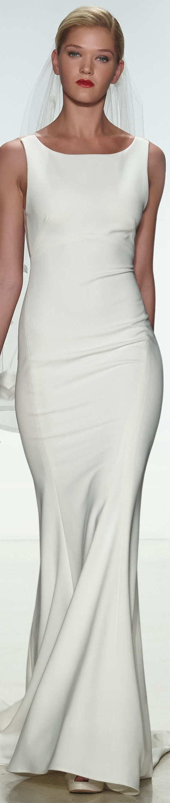 Best dresses to wear to a beach wedding   best Amsale Collections images on Pinterest  Bridal dresses