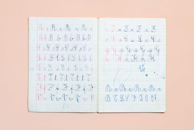 Esercizi di bella scrittura - Cent'anni di storia sui quaderni di scuola | Linkiesta.it