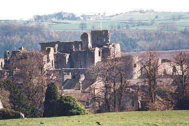 Middleham Castle - childhood home of Richard III
