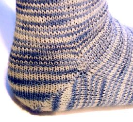 patron tricot chaussettes homme