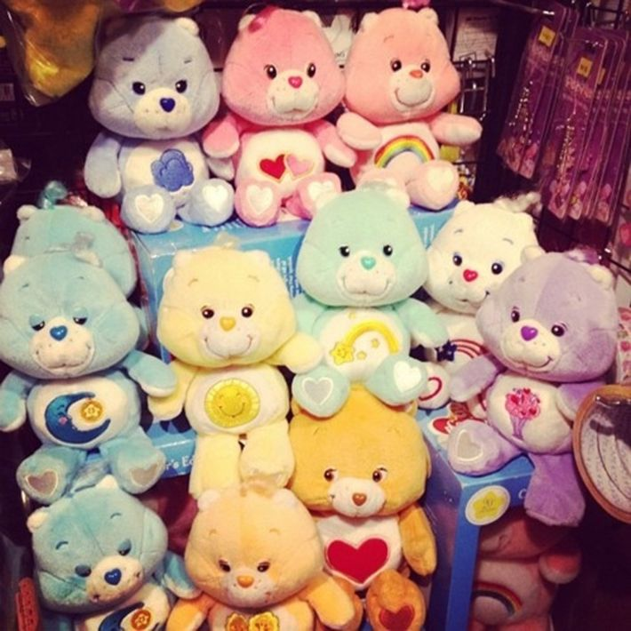 Selecting a Care Bear that you identified with best