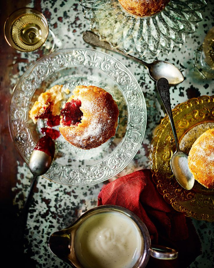 What happens when you cross a roly-poly pudding with a jam doughnut? A recipe that you'll be cooking up  and showing off time and time again.