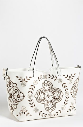 Valentino 'Glamorous Lace' Leather Tote   Nordstrom