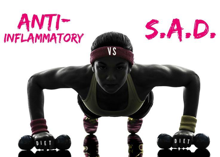 The Anti-Inflammatory Diet VS. the S.A.D. Diet http://instantdane.tv/blog/anti-inflammatory-diet-vs-sad-diet