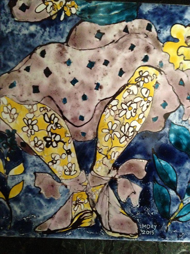 Azulejos de Marta Day. Detalle.
