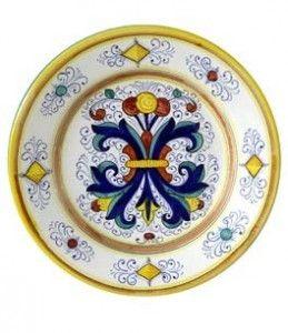 Deruta Plate Round 28cm
