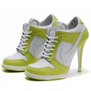 Nike Dunk SB Low Heels Green White