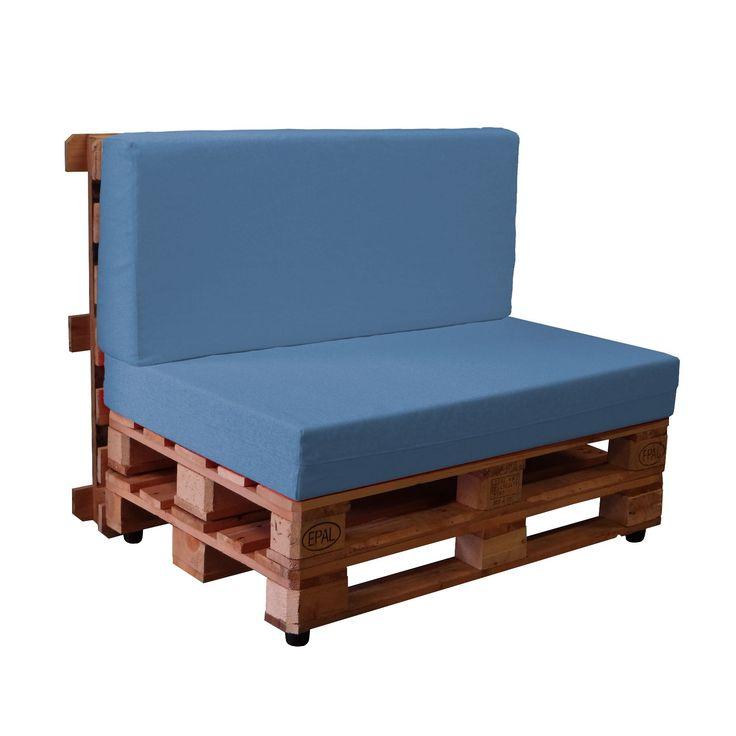 M s de 1000 ideas sobre sof palet en pinterest pal s - Hacer sofas con palets ...