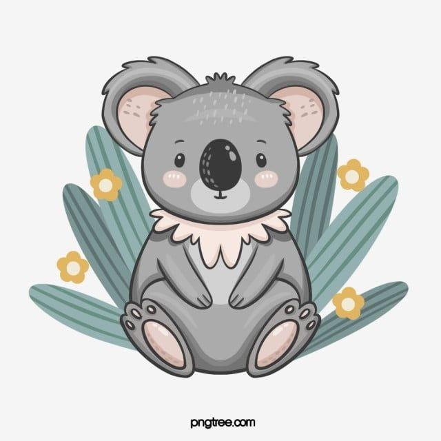 Hand Drawn Cute Style Koala Elements Koala Clipart Animal Koala Png Transparent Clipart Image And Psd File For Free Download Koala Animal Clipart Cartoon Clip Art