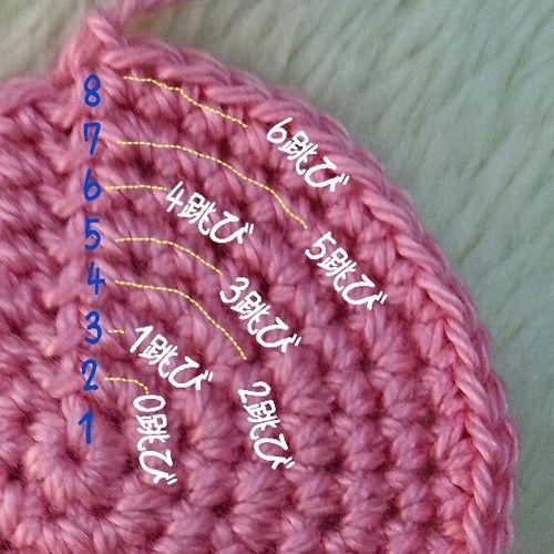 編み図とにらめっこしないで円を編む方法の作り方|編み物|編み物・手芸・ソーイング|ハンドメイドカテゴリ|ハンドメイド、手作り作品の作り方ならアトリエ