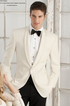 ivory dinner jacket shawl lapel shiny or not - Google Search