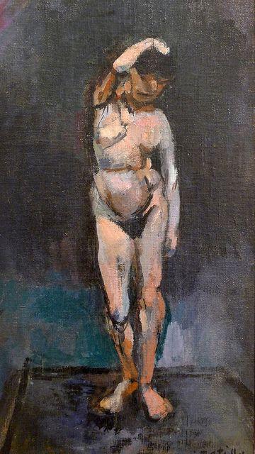 """Henri Matisse (1869-1954) """"Le modèle"""", dét. (1901)"""