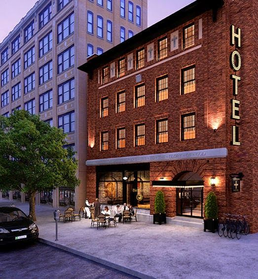 The Dean Hotel, Providence, Rhode Island; Habitually Chic®