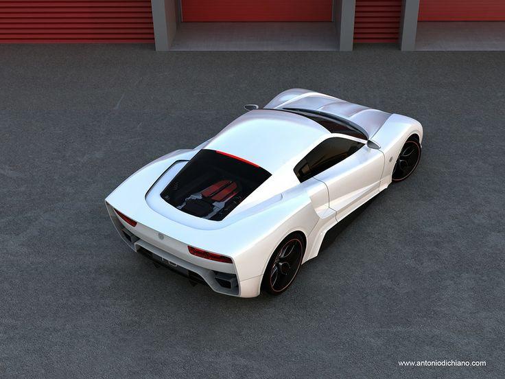 New Vencer supercar by Antonio Di Chiano design studio.