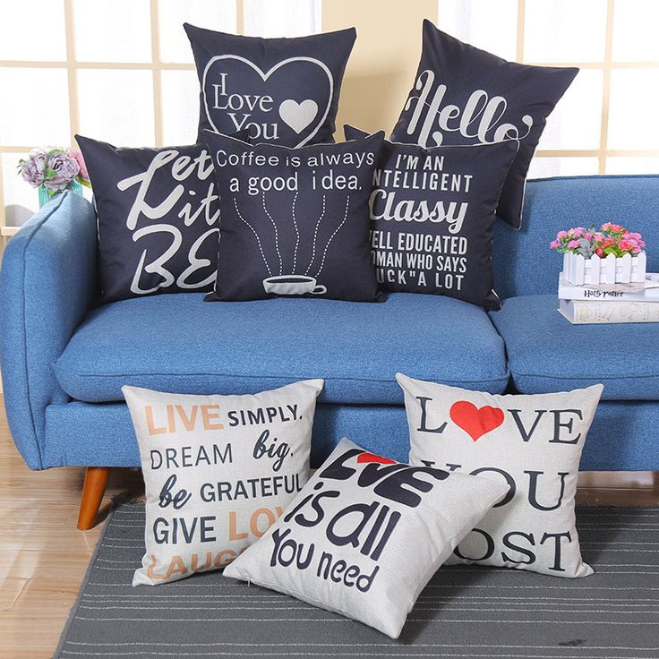 Find More Cushion Cover Information about Letter Cushion Cover Decoration Modern Sofa Throw Pillowcase Scandinavia Pillow Cover China Wholesale Shabby Chic Home Decor,High Quality cover decoration,China letter cushion covers Suppliers, Cheap cushion cover from WK HomeTextiles Store on Aliexpress.com