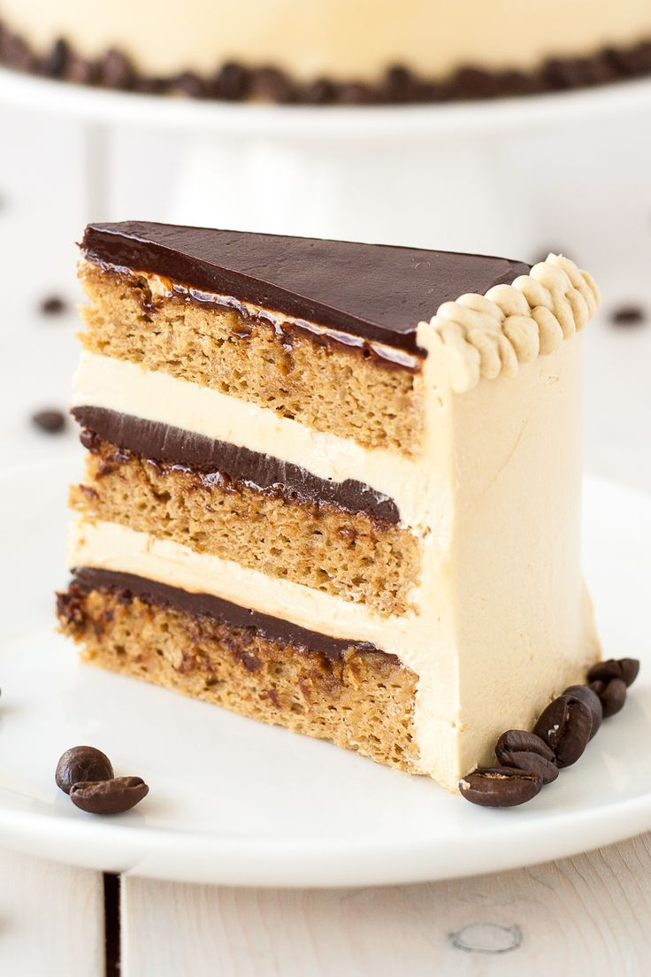 A modern take on a French classic, this decadent Opera cake is rich, chocolatey, and packed with espresso flavour.   livforcake.com