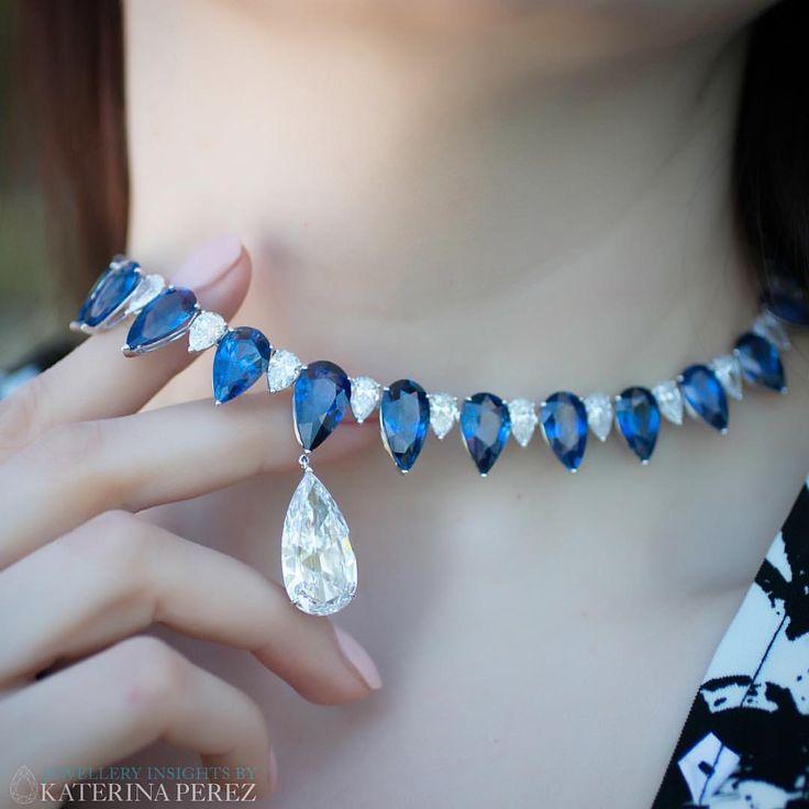 Chopard. KATERINA PEREZ (@katerina_perez) on Instagram: New Red Carpet diamond and sapphire piece by @chopard
