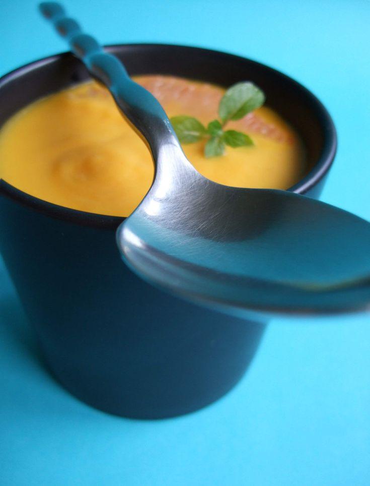 Soupe de carotte et pamplemousse