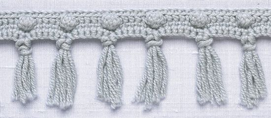 Stitchfinder : Crochet Trim: Popcorn Fringe : Frequently-Asked Questions (FAQ) about Knitting and Crochet : Lion Brand Yarn