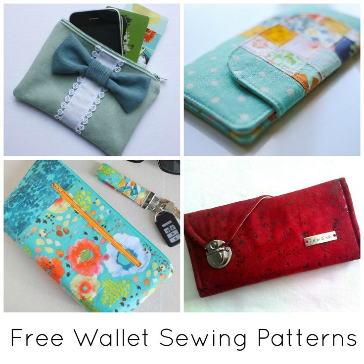 Contemporáneo Sewing Wallet Pattern Free Imagen - Manta de Tejer ...
