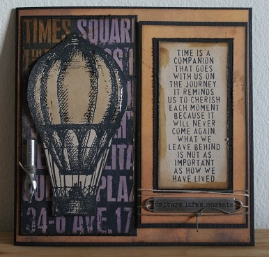 All things Tim. Papers, stamps and embellishments from Tim Holtz.