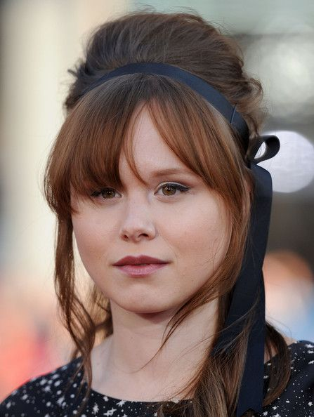 Alison Pill. Absolutely beautiful and totally awesome.