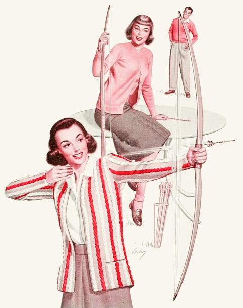 Catalina sport fashions, 1946. #vintage #1940s #fashion #ads