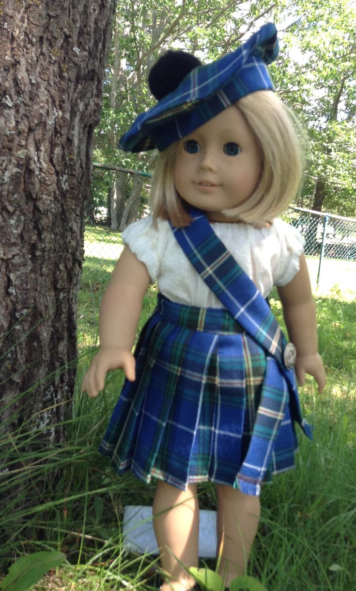 A personal favorite from my Etsy shop https://www.etsy.com/ca/listing/540632757/sale-pleated-skirt-for-18-inch-doll-ie