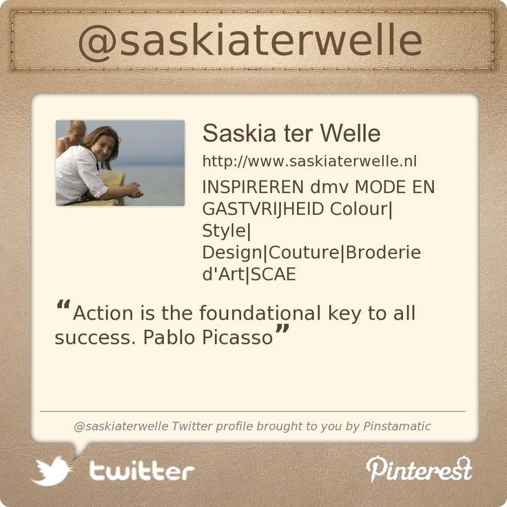 @saskiaterwelle's Twitter profile courtesy of @Pinstamatic (http://pinstamatic.com)