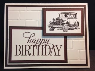 Guy Greetings,Happy Birthday, Everyone, Masculine Card, Stampin' Up!, Rubber Stamping, Handmade Cards