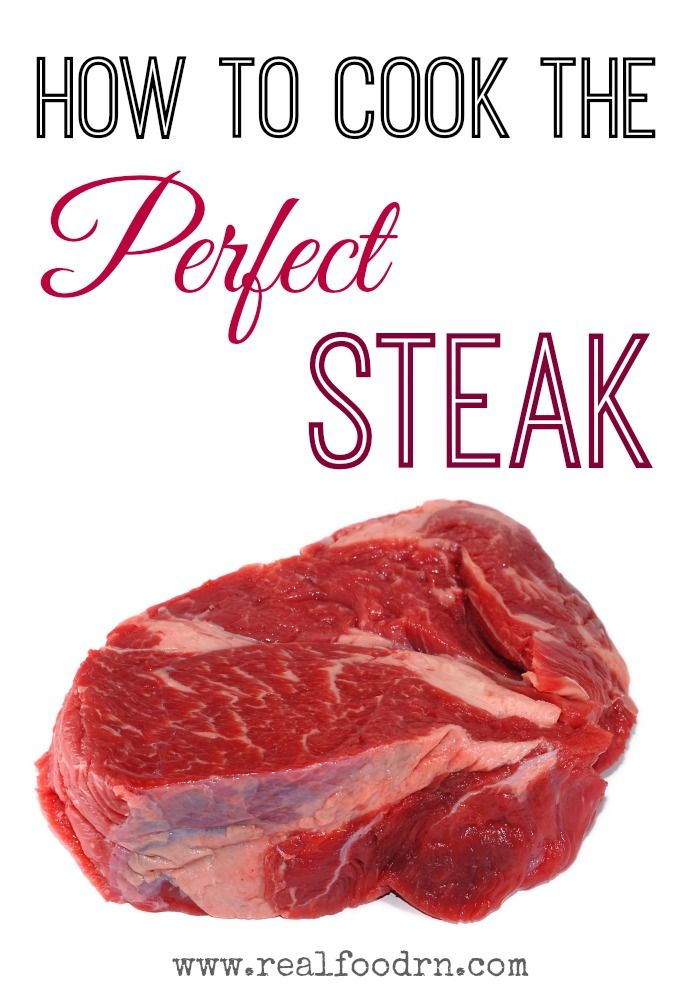 How to Cook the Perfect Steak #paleo