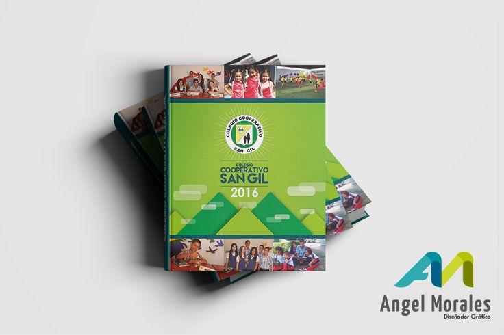 Diseño de agenda colegio - cooperativo san gil
