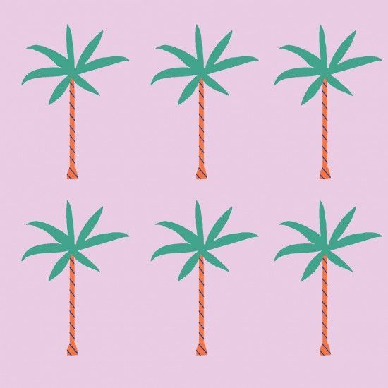 palm tree love: Colors Combos, Happy Friday, Design Laws Celebration, Naomi Wilkinson, Trees Illustrations, Graphics, Palms Trees Art, Palms Trees Prints, Palms Leaf Prints Patterns